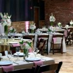 Anderson Party Rental Wedding Tables & Chairs