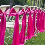 Anderson Party Rental Folding Chair Ties and Folding Chairs
