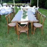 Anderson Party Rental Tables and Chairs