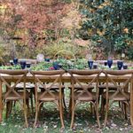 Anderson Party Rental Farm Tables and Chairs