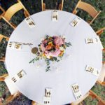Anderson Party Rental Round Tables, Linens and Chairs