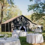 Anderson Party Rental Round Tables, Linens and China